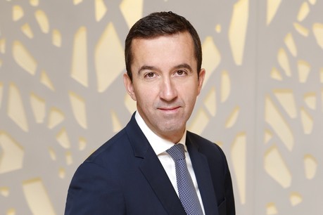Mathieu Maurier, country head chezSociete Generale Securities Services Luxembourg. (Photo: Olivier Minaire)