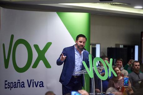 Le chef de file du parti d'extrême droite Vox, Santiago Abascal, espère reconquérir le pouvoir en Espagne. (Photo: Shutterstock / archives)