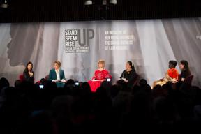 Chacune des participantes a pu témoigner de son histoire, mais surtout insister sur l'importance de parler des violences sexuelles, de briser le tabou et de faire avancer les choses. ((Photo: Anthony Dehez))