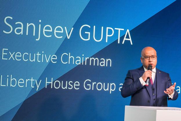 Un mois après avoir hissé les couleurs de GFG Alliance sur l'usine de Dudelange, le CEO Sanjeev Gupta annonce la création de Liberty Steel Group, un géant de l'acier. (Photo: Paperjam/archives)
