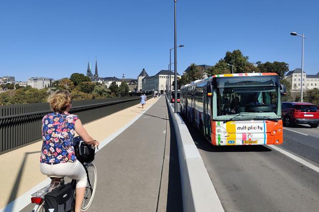 Le trafic des bus sur l'Al Bréck sera maintenu mais à une cadence réduite, vu la desserte du tram sur l'axe Gare-Ville Haute. (Photo: Paperjam)