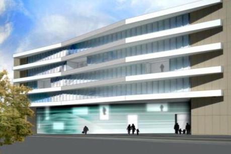 La Zithaklinik sera en travaux à partir de septembre 2012 jusqu'à 2020. (Photo: Jim Clemes)