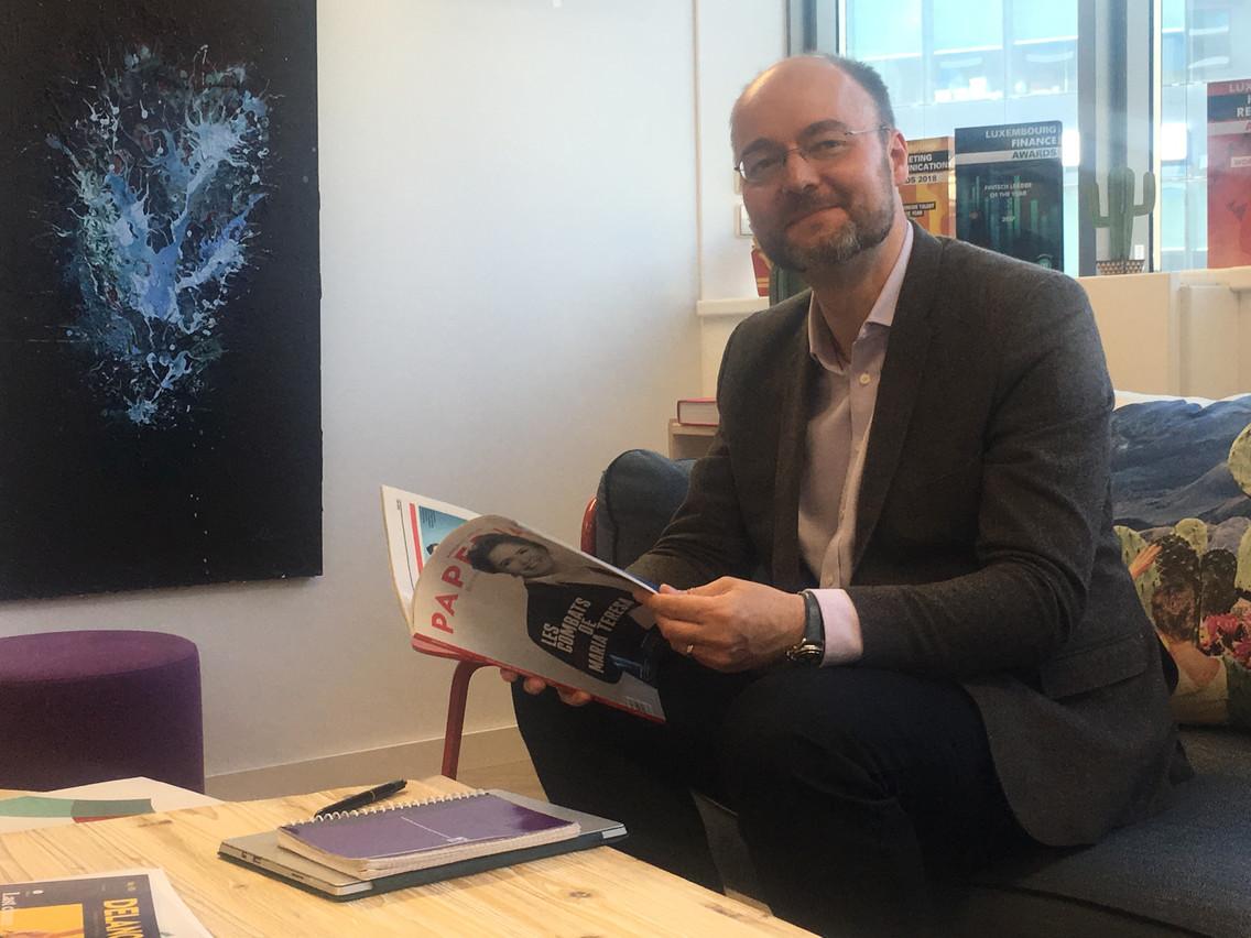 Olivier Debeugny, le CEO de Lingua Custodia, prépare la création d'une filiale au Luxembourg, d'où sera géré le développement commercial à partir de l'automne. (Photo: DR)