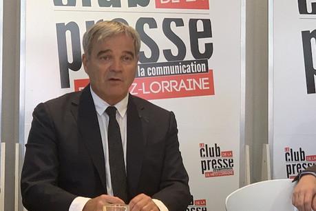 Sans attendre la décision d'En Marche! sur l'investiture d'un candidat à Metz, Richard Lioger a annoncé qu'il irait au bout des élections municipales. (Photo: Paperjam)