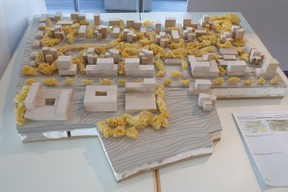 Maquette du projet présenté dans l'exposition dans le bâtiment Rocade de la Ville de Luxembourg ((Photo: Matic Zorman/Maison Moderne))
