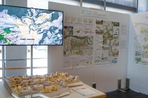 Vue de l'exposition dans le bâtiment Rocade de la Ville de Luxembourg ((Photo: Matic Zorman/Maison Moderne))