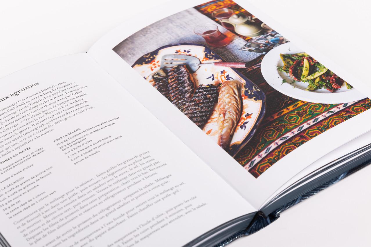 Saupoudrées à travers les 280 pages de«Black Sea», 60 recettes font découvrir la mer Noire gourmande. (Photo: Romain Gamba)