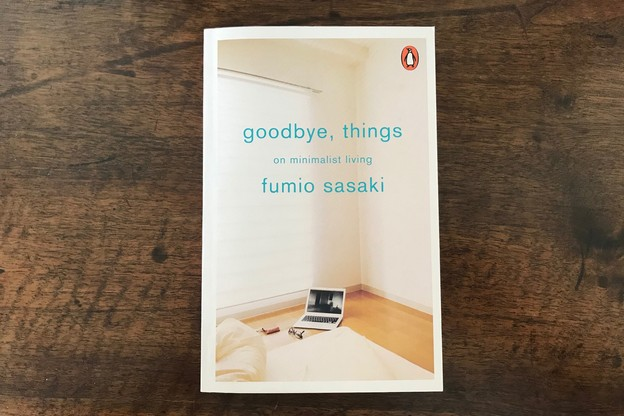 «Goodbye, things: on minimalist living» de Fumio Sasaki. (Photo: DR)