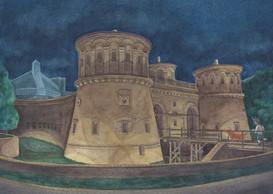 Exemple d'illustration réalisée par Marie-Isabelle Callier. ((Illustration: Marie-Isabelle Callier pour l'association des Amis des musées))