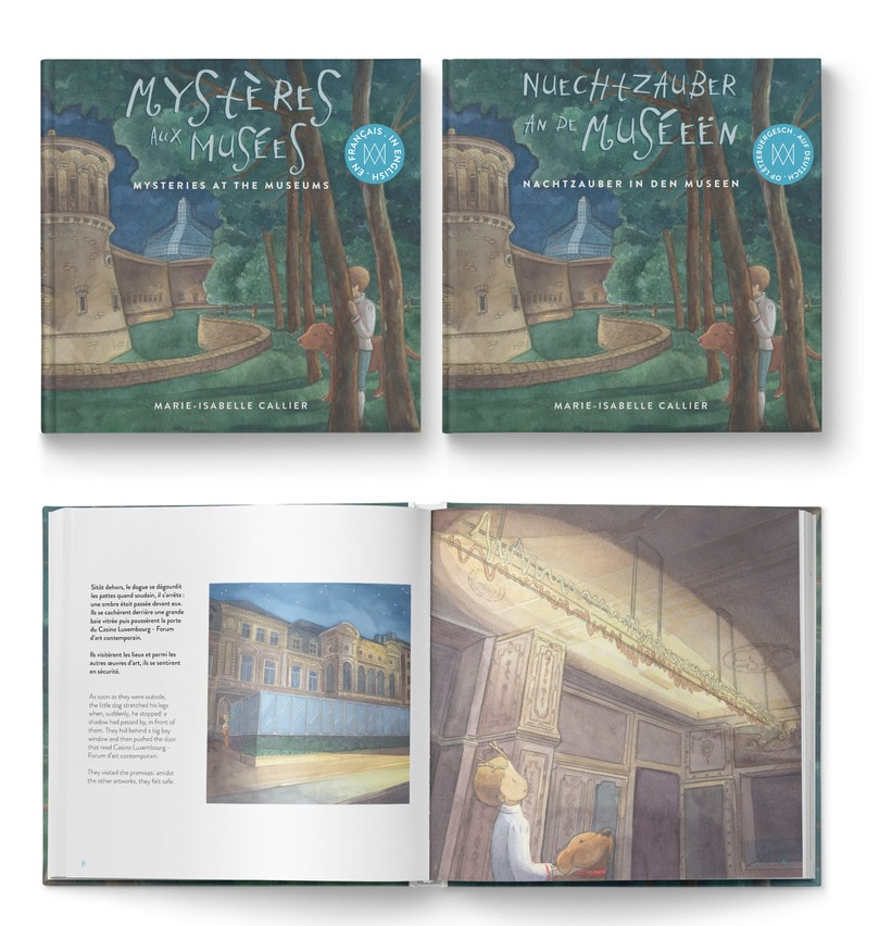 Le livre a été édité en plusieurs langues. (Photo: Amis des Musées Luxembourg)