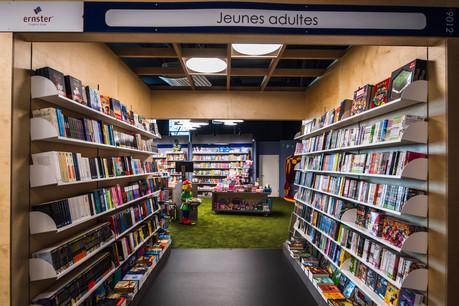 La librairie Ernster a ouvert, en mai dernier, un nouveau magasin à la Cloche d'Or, «preuve que le marché n'est pas saturé», selon son directeur général, Fernand Ernster. (Photo: Nader Ghavami)