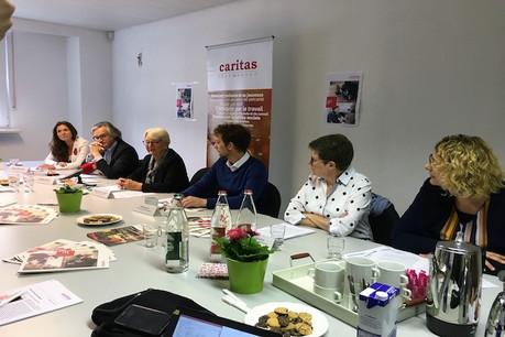 Les responsables de Caritas Luxembourg ont dressé le bilan de leur action en 2018. (Photo: Caritas Luxembourg)