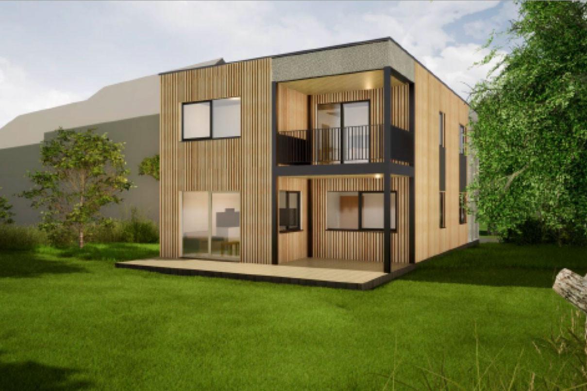 Les logements pourraient être construits par Polygone sur des terrains loués. (Illustration: Polygone)