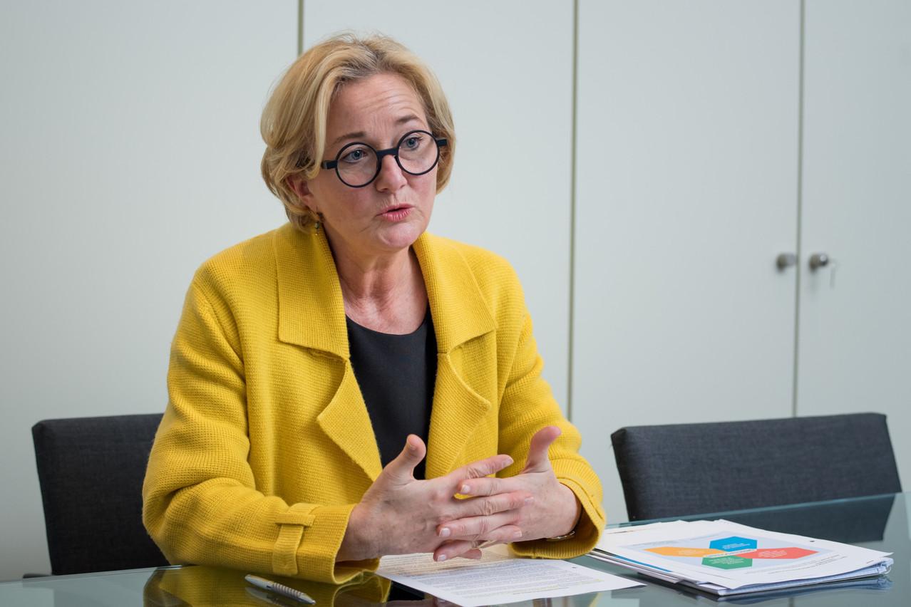 Pour Paulette Lenert, il ne faut pas renforcer les sanctions envers ceux qui ne respectent pas la quarantaine. (Photo: Nader Ghavami/Archives)
