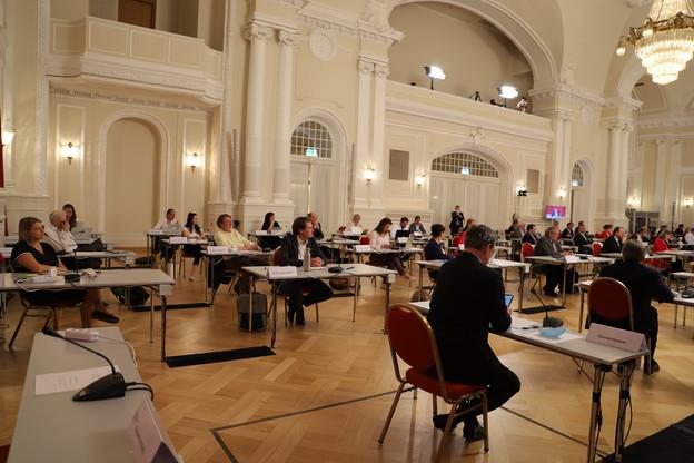 Les députés doivent se prononcer sur les mesures soumises par l'exécutif trois jours auparavant. (Photo: Chambre des députés/Archives)