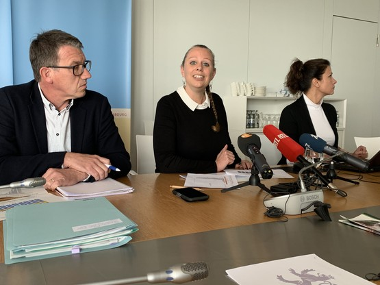 La ministre  Carole Dieschbourg  a annoncé une nouvelle loi pour l'environnement avant fin2019. (Photo: Paperjam)