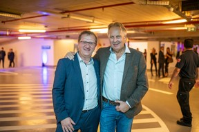 Rainer Mayer (Garage André Losch) et Fred Bintener (Binsfeld & Bintener) ((Photo: Johannes Nollmeyer))