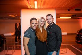 Dylan Pereira (Pilote automobile), Lisa Lesch et Marc Michaely ((Photo: Johannes Nollmeyer))
