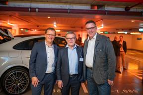 Rainer Mayer (Garage André Losch), Jean Pierre Grass et Roland Meyers ((Photo: Johannes Nollmeyer))