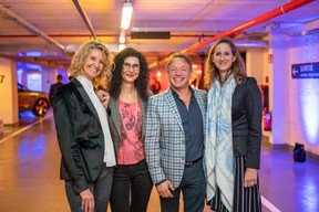 Brigitta Heinz, Carmen Bode, Adriano Presti et Laura Rossi ((Photo: Johannes Nollmeyer))