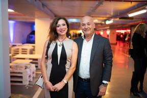 Patricia van de Voorde et Charles Marboum ((Photo: Johannes Nollmeyer))
