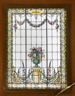 Un grand vitrail orne la cage d'escalier. ((Photo: Stéphane Muratet/Louis Vuitton))