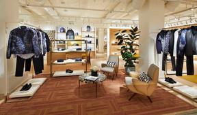 Le prêt-à-porter est proposé dans la boutique en offre éphémère. ((Photo: Stéphane Muratet/Louis Vuitton))