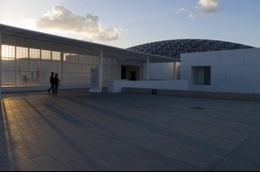 Visite du LouvreAbu Dhabi. ((Photo: SIP/Jean-Christophe Verhaegen))