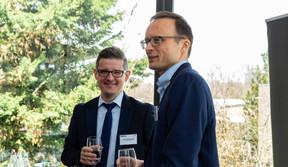 Lukasz Bozekowski (KB|AS Legal) et Heike Zatterstrom (Boson Energy) ((Photo: Ma Zagrzejewska))