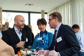 Serge Krancenblum (IQ-EQ), Florence Lemeer-Wintgens (Look@Work) et Joseph Hoffmann (Swiss Healthcare AG) ((Photo: Ma Zagrzejewska))