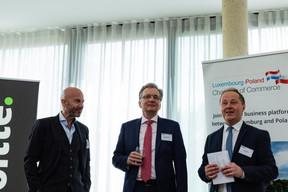 Serge Krancenblum (IQ-EQ), Roman Lewszyk (Moventum) et Artur Sosna (LPCC) ((Photo: Ma Zagrzejewska))