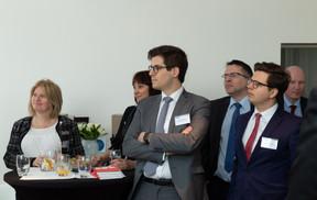 Steven Koener (Chambre de commerce) et Blazej Gladysz (Arendt & Medernach) ((Photo: Ma Zagrzejewska))