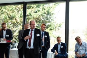 Piotr Zaczek, Heiner Richters, Lukasz Bozekowski (KB|AS Legal), Heike Zatterstrom (Boson Energy) et Hans Strelow (Eurostat) ((Photo: Ma Zagrzejewska))