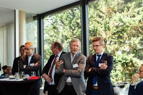 Rolf Tarrach (Université du Luxembourg) et Lukasz Bozekowski (KB AS Legal) ((Photo: Ma Zagrzejewska))