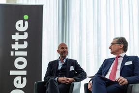 Serge Krancenblum (IQ-EQ) et Roman Lewszyk (Moventum) ((Photo: Ma Zagrzejewska))