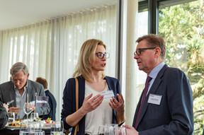Marta Andrzejewska et Joseph Hoffmann (Swiss Healthcare AG) ((Photo: Ma Zagrzejewska))