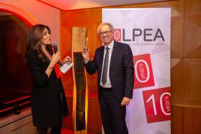 RajaaMekouar-Schneider (CEO de la LPEA) et Pierre Gramegna (Ministre des Finances) ((Photo: Romain Gamba/Maison Moderne))