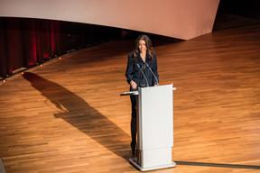 Rajaa Mekouar-Schneider ( Présidente de la LPEA ) ((Photo: Mike Zenari))