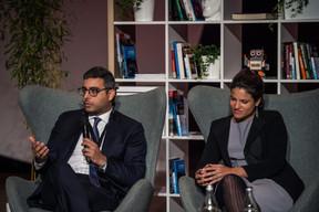 Dr. Serge Younes (Investindustrial) et Cornelia Gomez (PAI Partners) ((Photo: Mike Zenari))