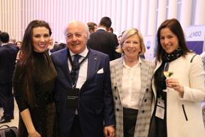 À gauche, Lisa Burke (RTL Today), Norbert Becker, Maria Dennewaldet Katia Gauzes (Clifford Chance) ((Photo: Nader Ghavami))