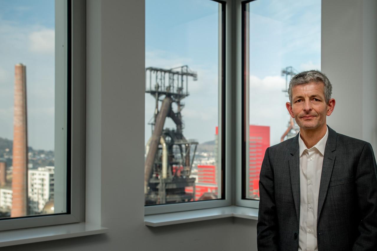 Luc Dhamen quitte la direction du Fonds Belval pour prendre celle de l'Administration des bâtiments publics. (Photo: Nader Ghavami)