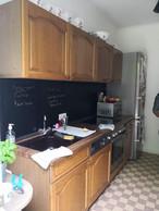 La cuisine avant rénovation. ((Photo: Ideas Factory))