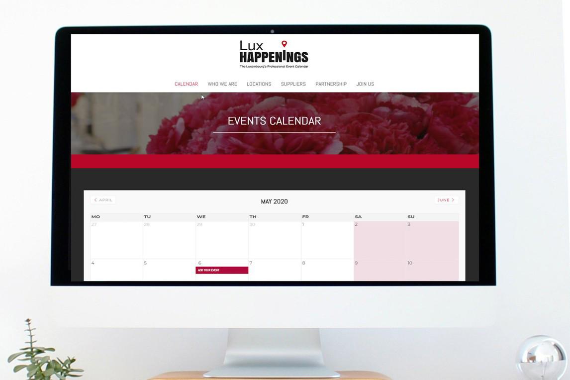 Lux Happenings propose un calendrier qui regroupe les événements professionnels. (Photo: Lux Happenings)