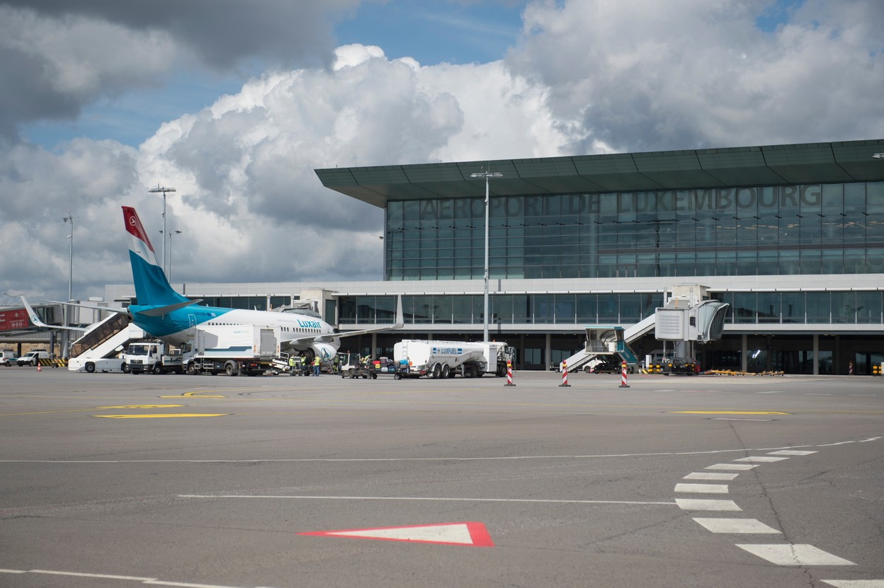Luxembourg's airport in Findel Photo: Anthony Dehez
