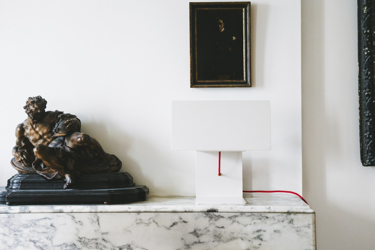 La lampe Unibody est l'expression minimale des composants d'un luminaire. (Photo : Mathieu Martin Delacroix, Kianpour & Partners)