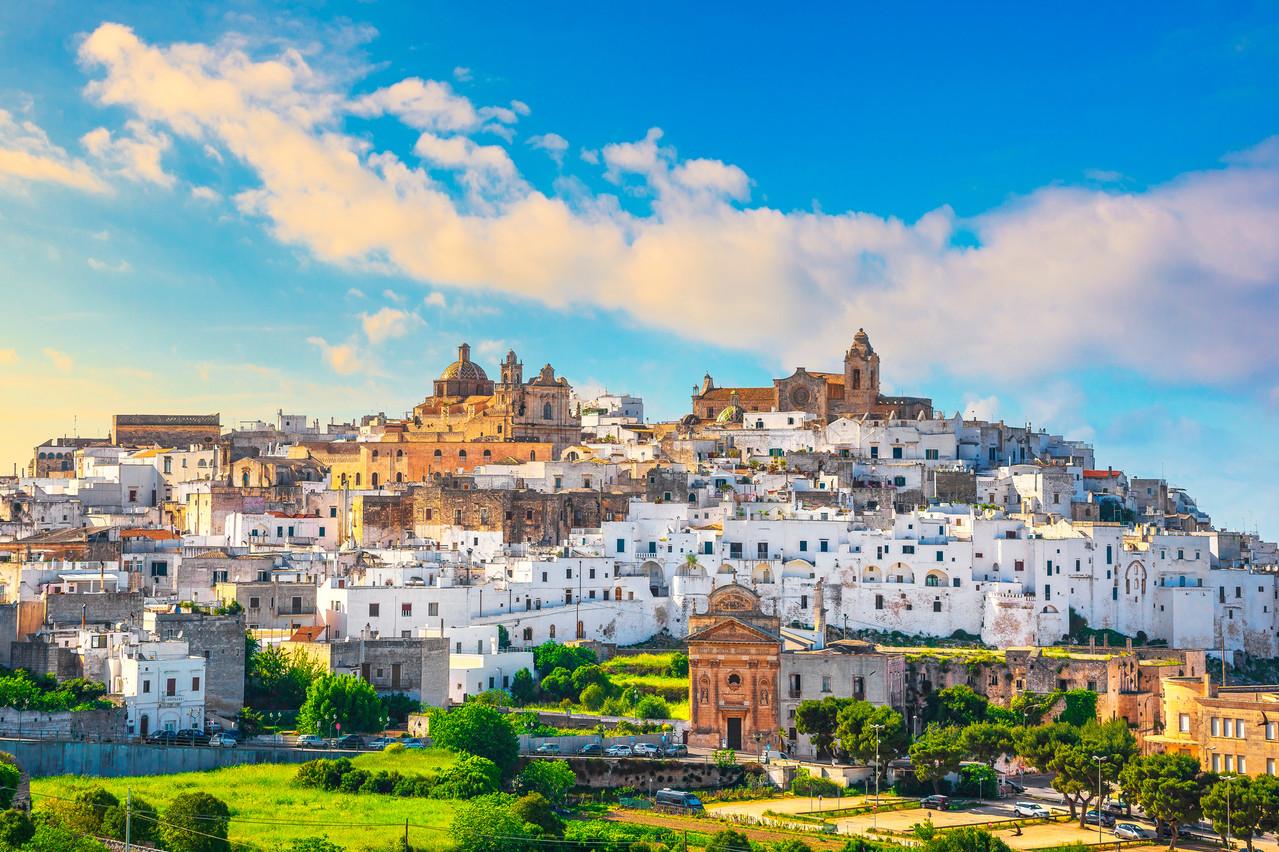 À partir du 5 avril, LuxairTours «vendra» à Brindisi, dans le talon de la botte italienne. Occasion d'aller à Lecce ou dans la ville blanche d'Ostuni. (Photo: Shutterstock)