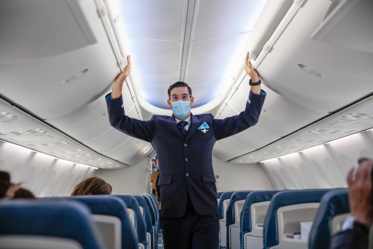 Luxair retrouve peu à peu la confiance des clients, si bien qu'autant de Belges ont réservé des billets qu'à la même période l'année dernière. (Photo: Romain Gamba / Maison Moderne)