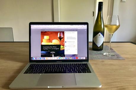 Luxaviation Fine Wines a lancé, vendredi, une série de dégustations de vins thématiques en ligne sur Instagram. (Photo: Maison Moderne)