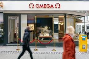 Omega a ouvert récemment un flagship store dans la ville haute, une première au Benelux pour la marque suisse, qui ne compte que 12points de vente de ce type dans le monde. ((Photo: Romain Gamba/Maison Moderne))