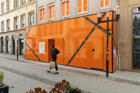 La boutique Hermès prépare actuellement sa mue. ((Photo: Romain Gamba/Maison Moderne))